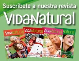 Suscríbete a la revista VIDA NATURAL