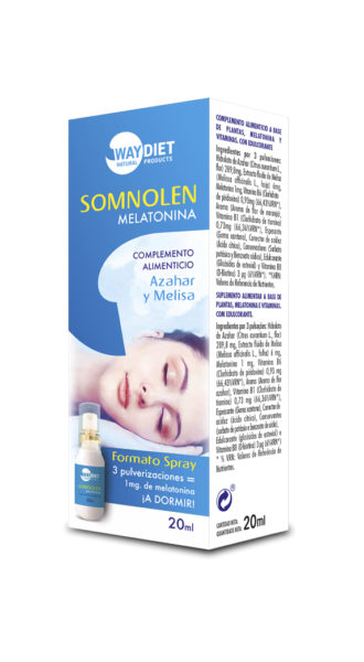 SOMNOLEN MELATONINA SPRAY