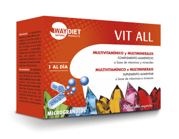 VIT ALL Multivitamínico y multiminerales