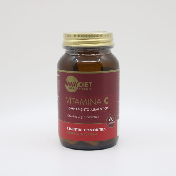 VITAMINA C 60 comprimidos 1